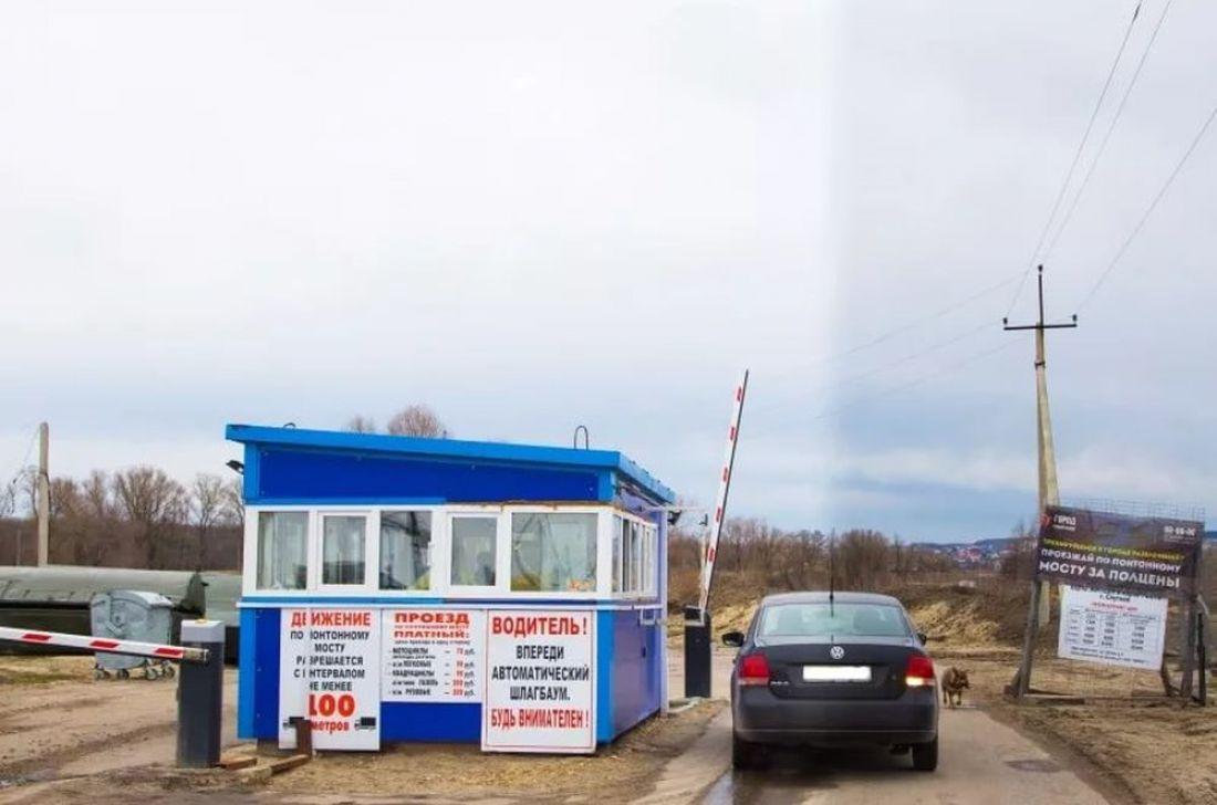 Понтонный мост в город Спутник будет закрыт