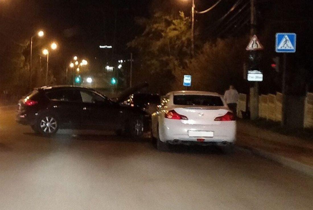 В пензенском районе Север произошла авария с участием внедорожника. Фото