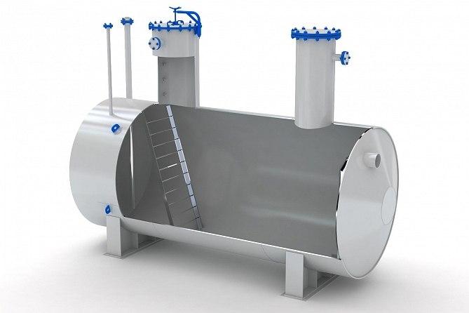 Металлические емкости для производства