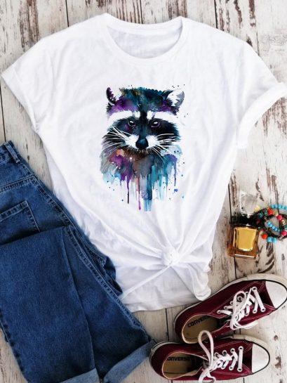 Отличные футболки с енотом